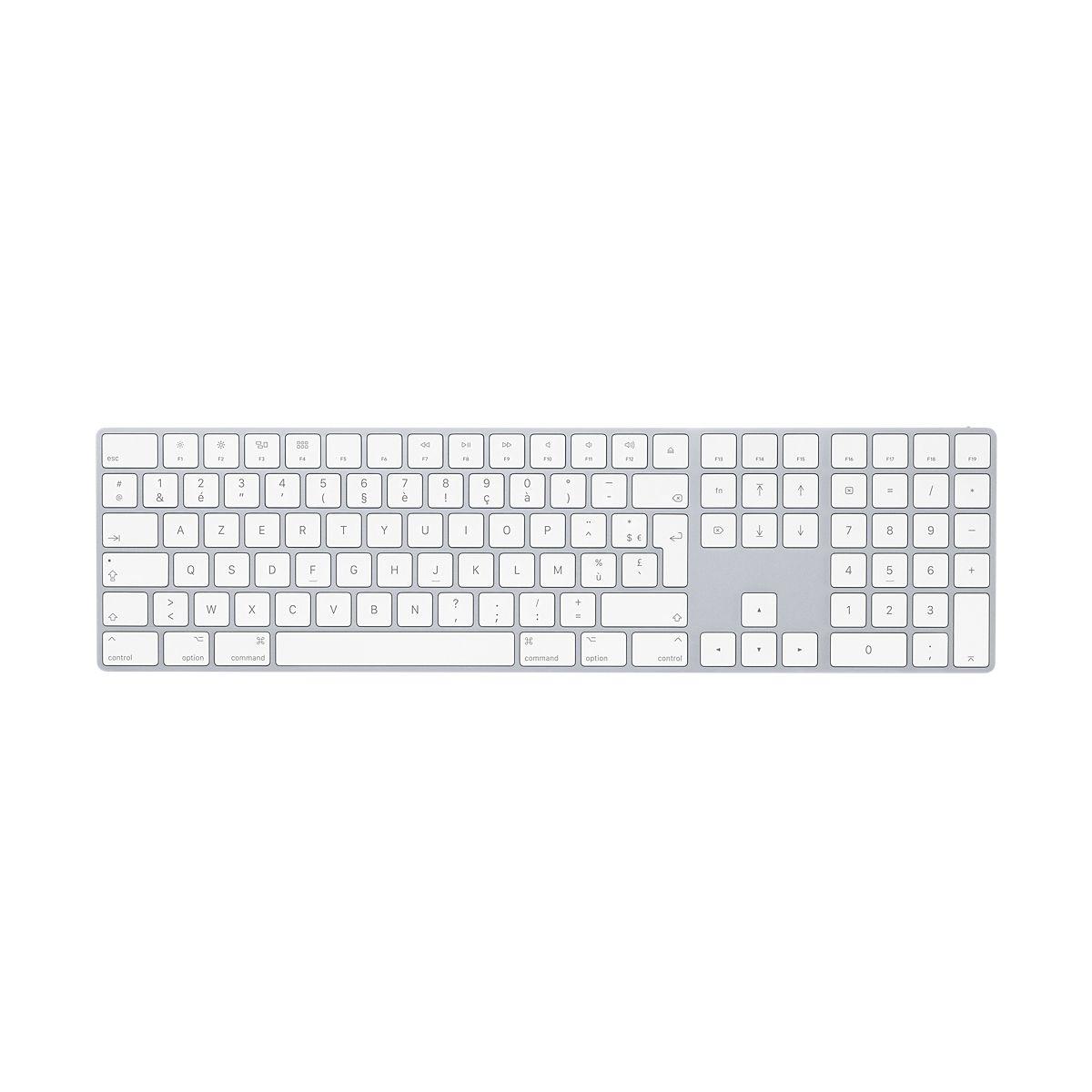 Clavier sans fil APPLE Magic Keyboard 2017 avec Pad Numérique