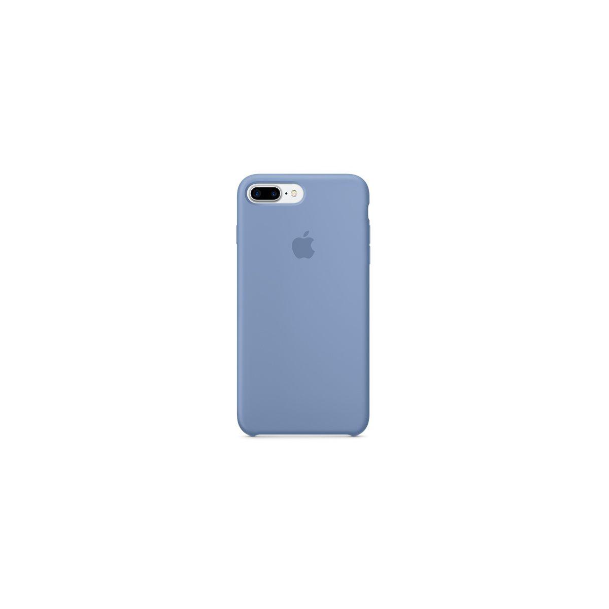 Coque APPLE iPhone 7 Plus Silicone Azur (photo)