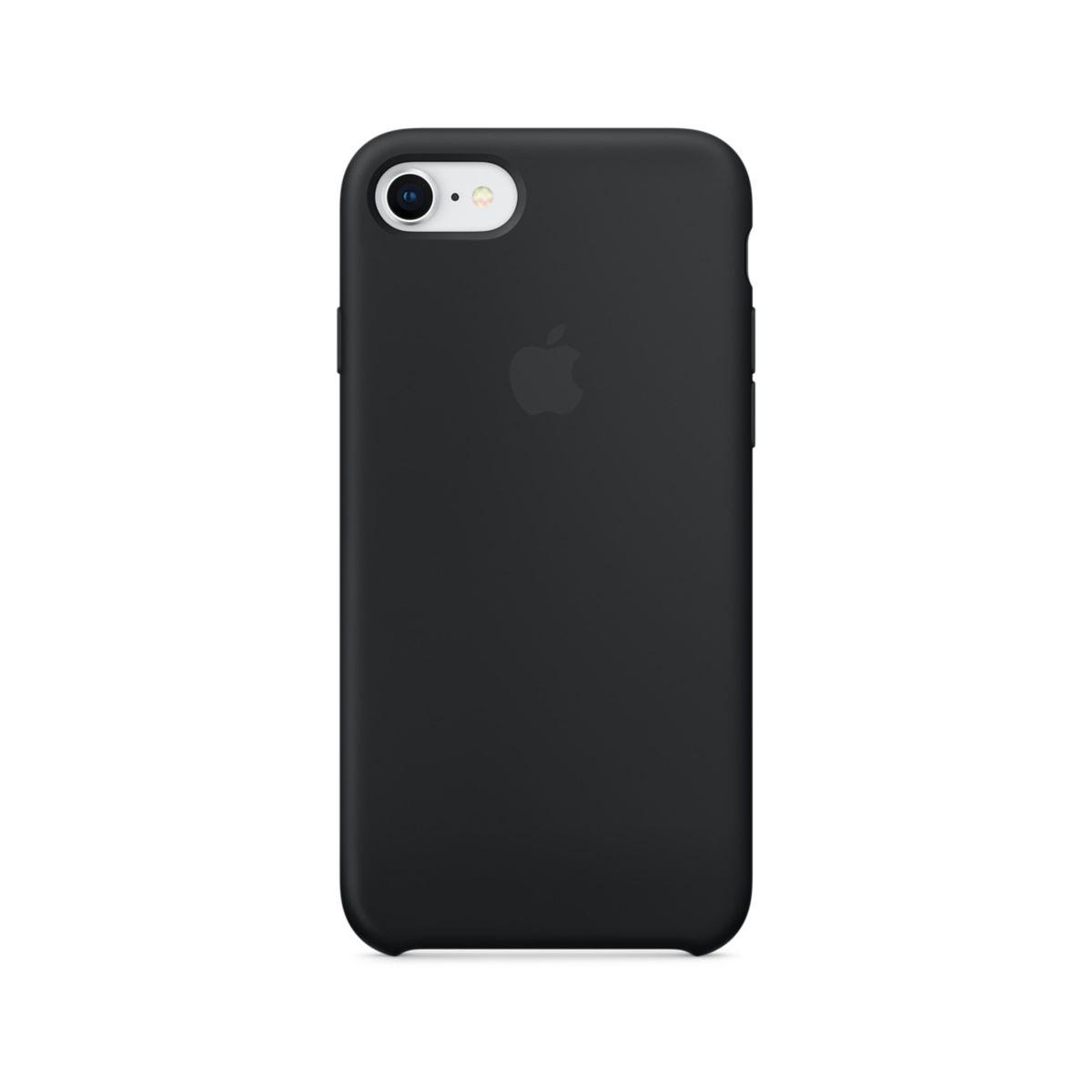 Coque APPLE iPhone 7/8 silicone noir (photo)