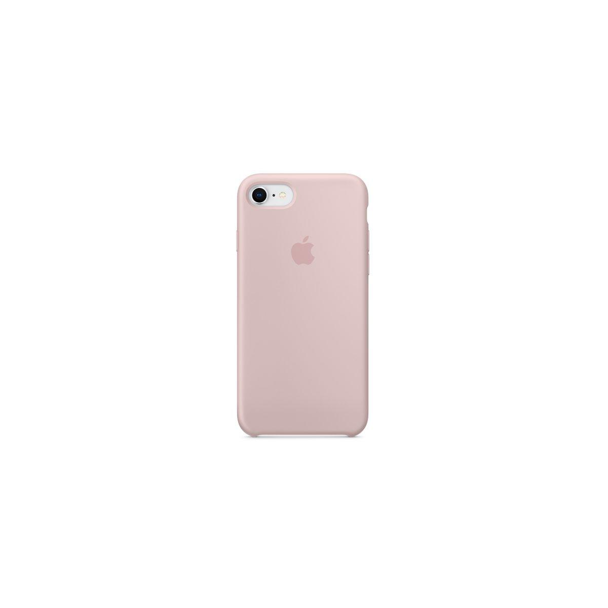 Coque APPLE iPhone 7/8 silicone rose des (photo)