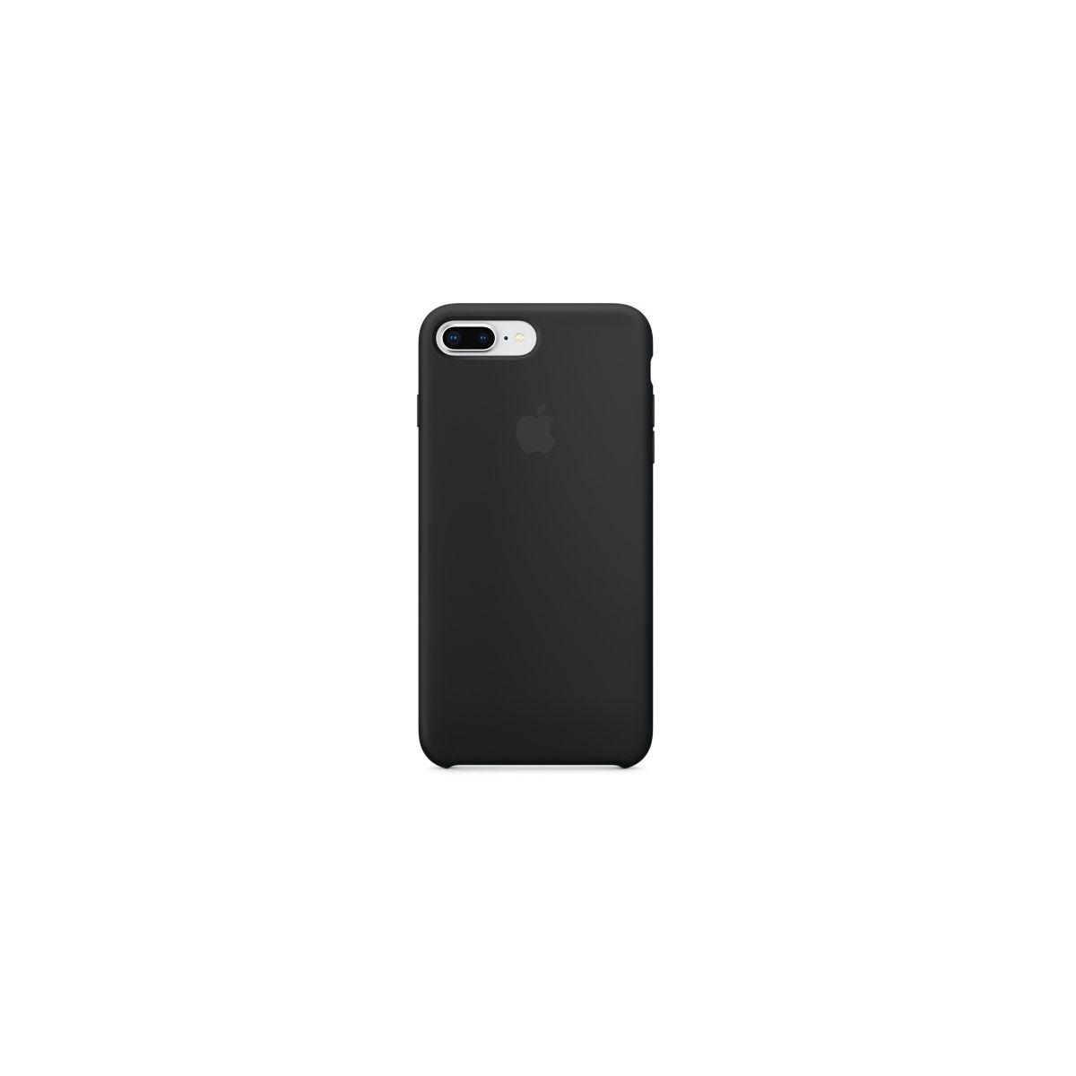 Coque APPLE iPhone 7/8 Plus silicone noi (photo)
