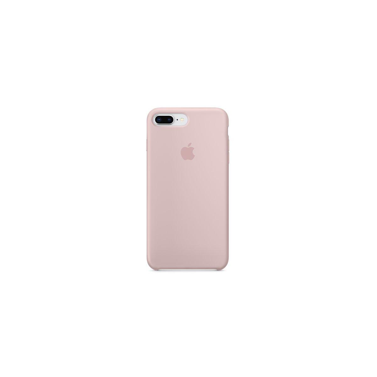 Coque APPLE iPhone 7/8 Plus silicone ros (photo)