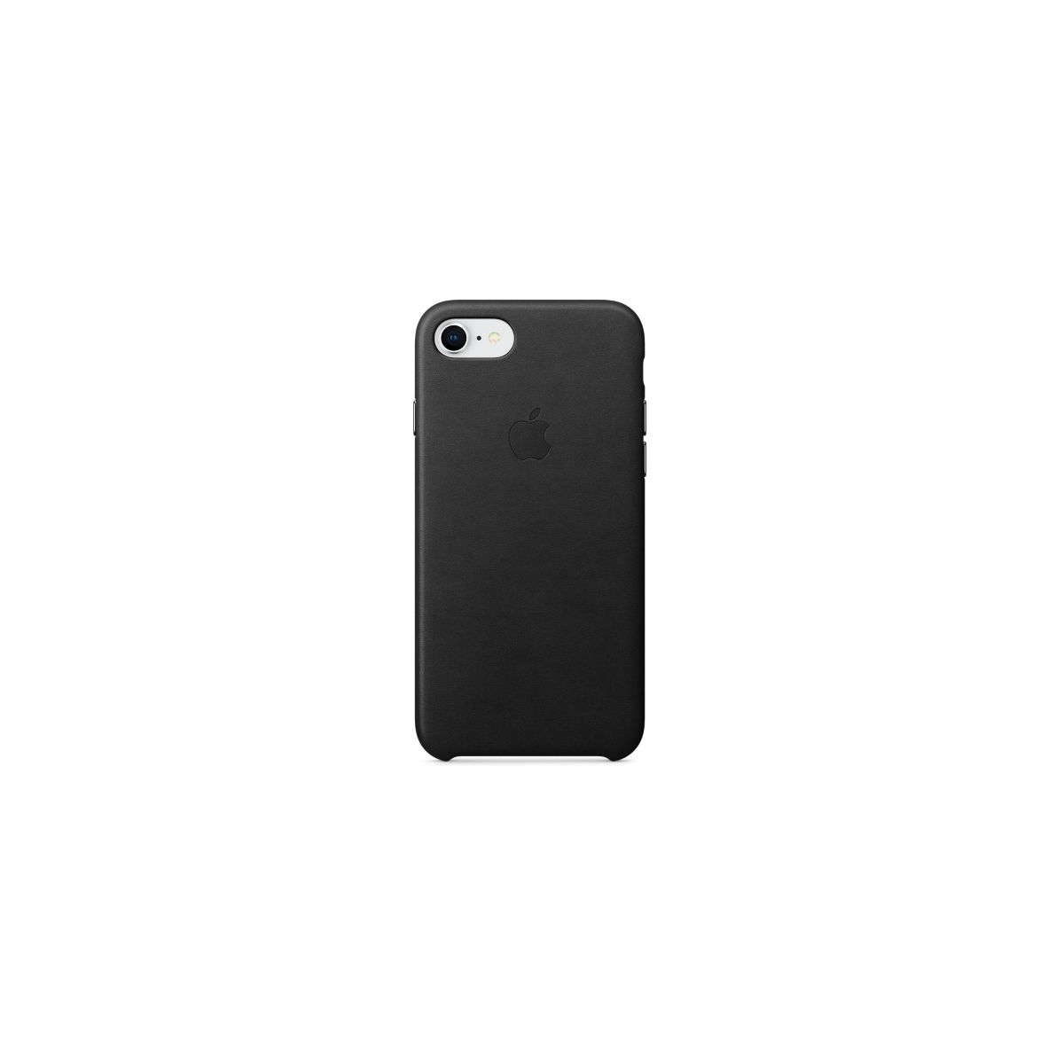 Coque APPLE iPhone 7/8 cuir noir (photo)