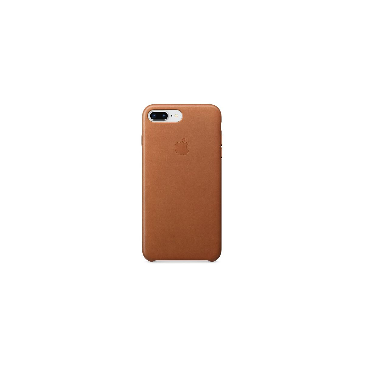 Coque APPLE iPhone 7/8 Plus cuir Havane (photo)