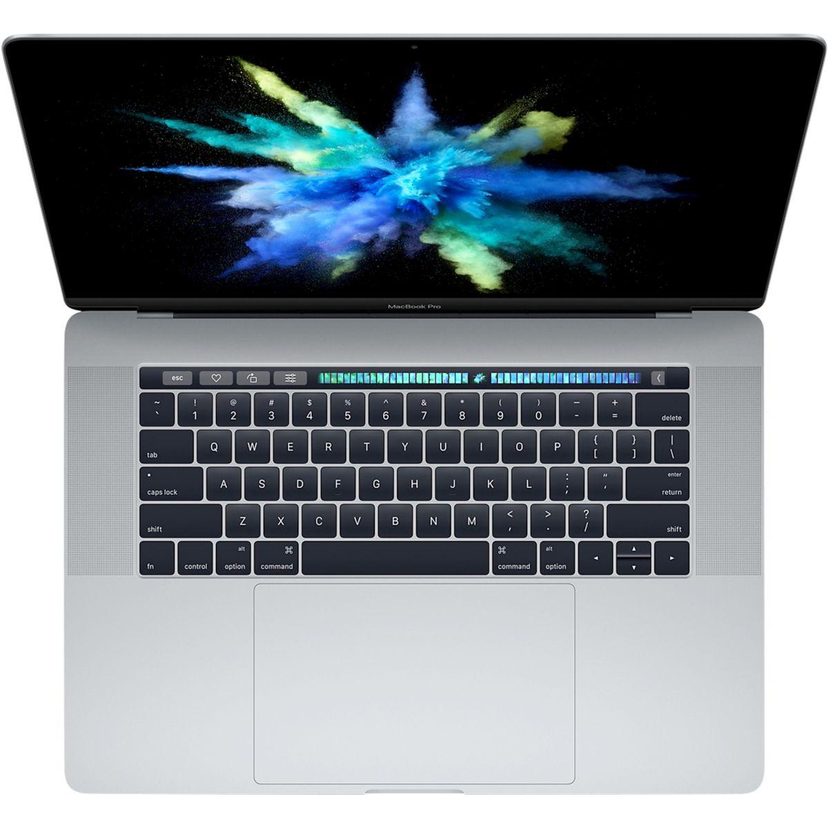 Ordinateur Apple MACBOOK Pro New 15p Touch Bar i7 256Go Gris S (photo)