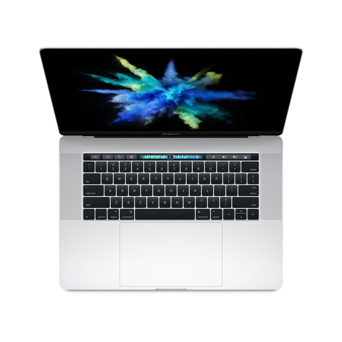 Ordinateur Apple MACBOOK Pro New 15p Touch Bar i7 512Go Argent (photo)