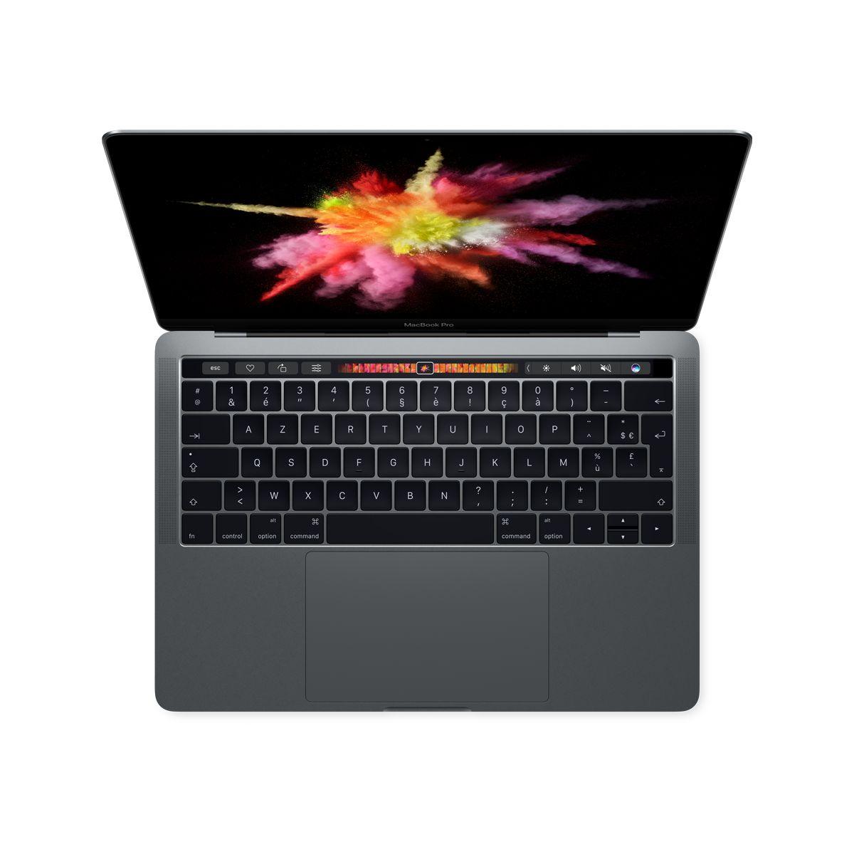 Ordinateur Apple MACBOOK Pro New 13p Touch Bar i5 256Go Gris S (photo)