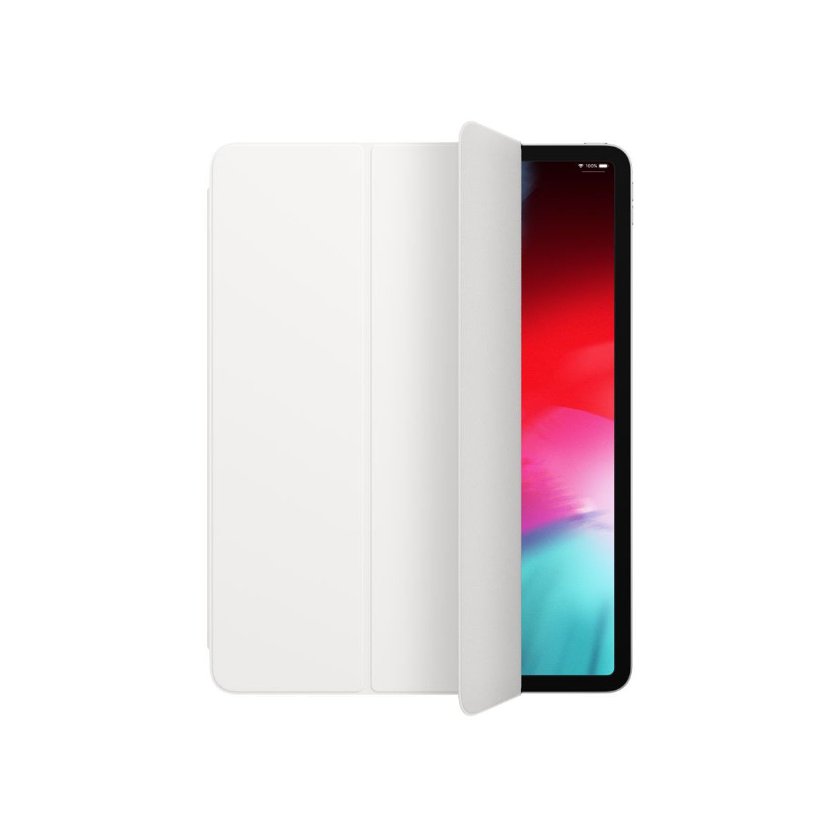 Etui APPLE iPad Pro 12.9' 2018 blanc (photo)