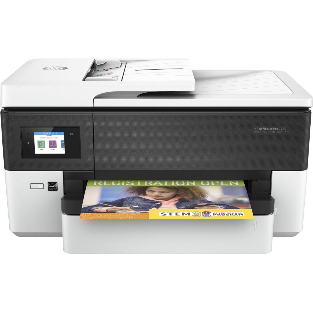 Imprimante jet d'encre HP Office Jet Pro 7720