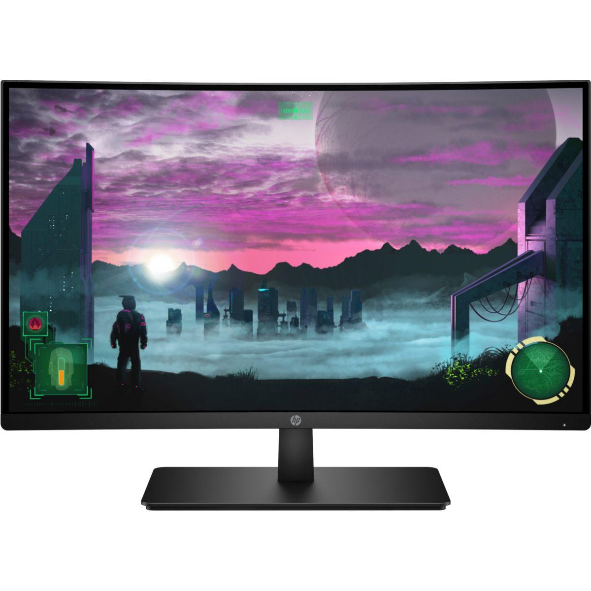 Ecran PC Gamer HP HP 27x Curved