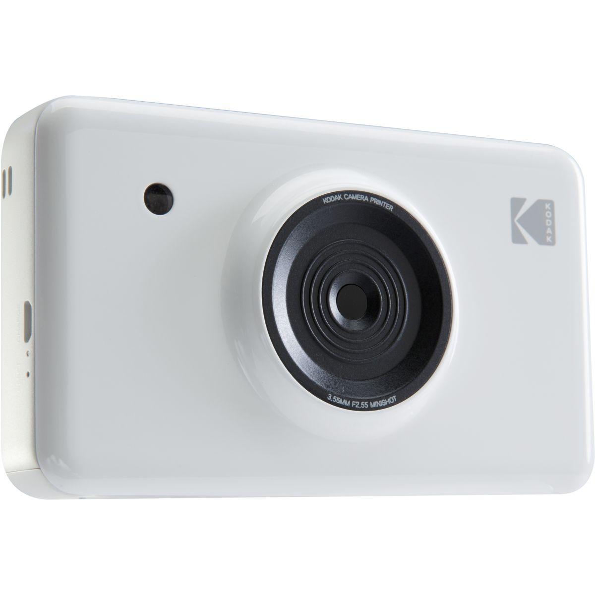 Appareil photo Instantané KODAK Mini Shot Blanc