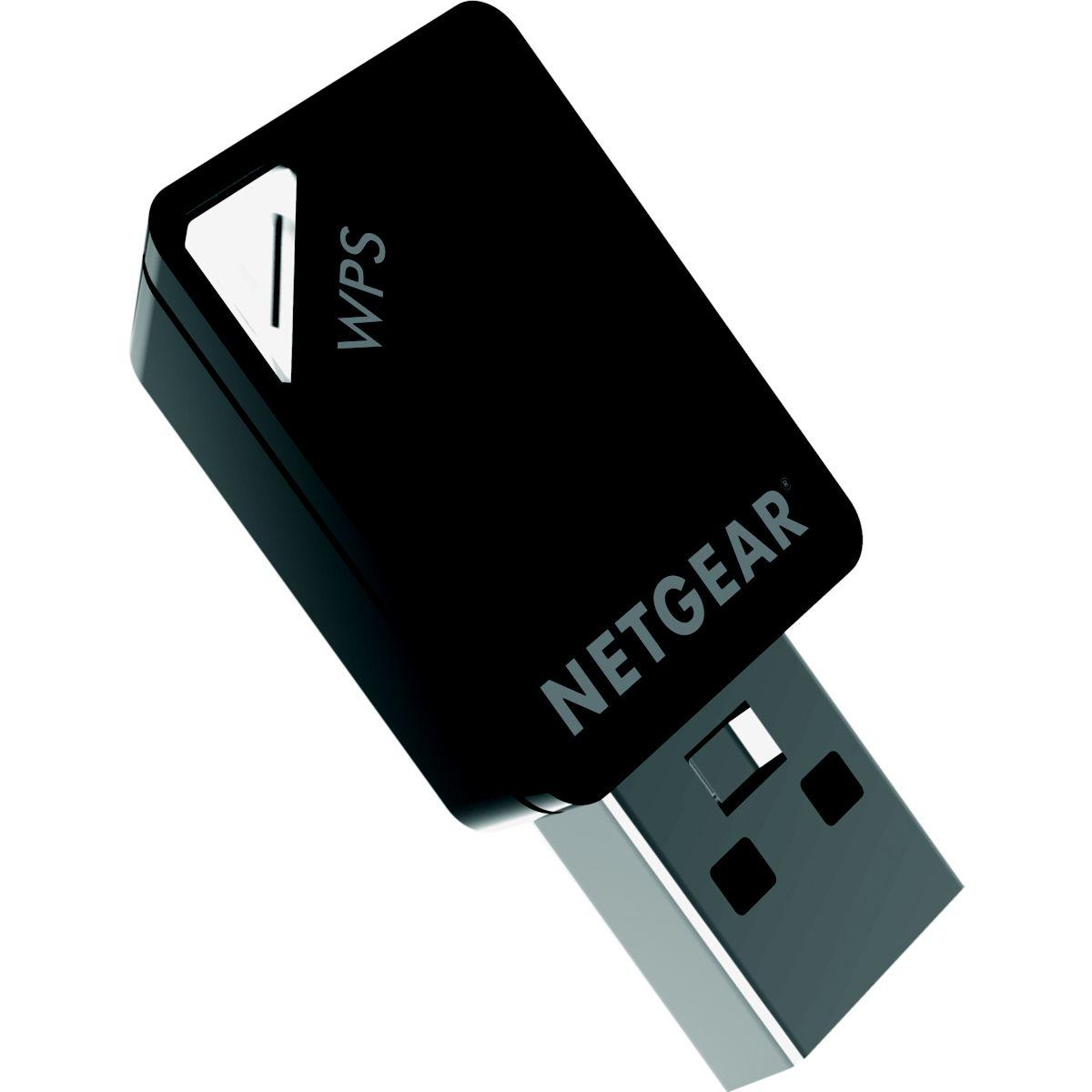 Adaptateur réseau NETGEAR Wifi A6100 802.11ac AC600 (photo)