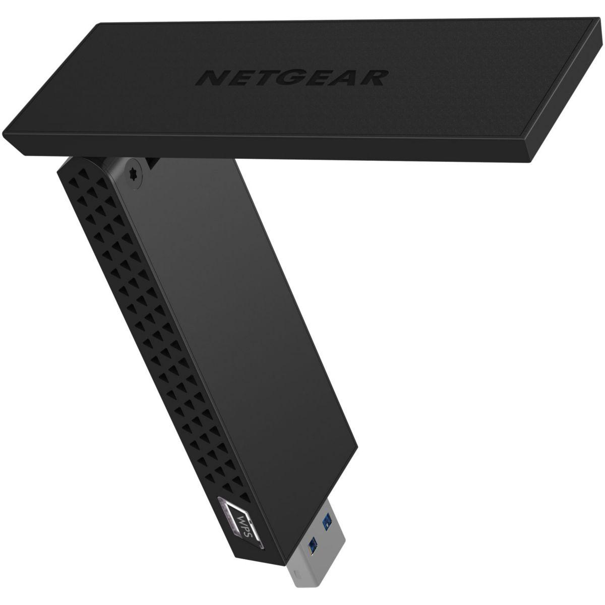 Adaptateur réseau NETGEAR Wifi AC1200 USB 3.0 (photo)