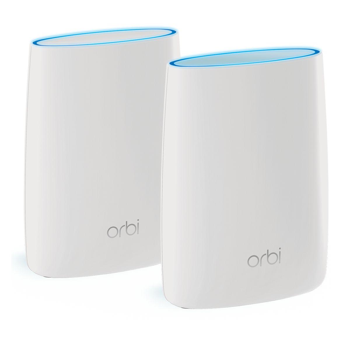 Modem/Routeur Wifi NETGEAR ORBI PACK ROUTEUR+SATELLITE RBK50-100PES