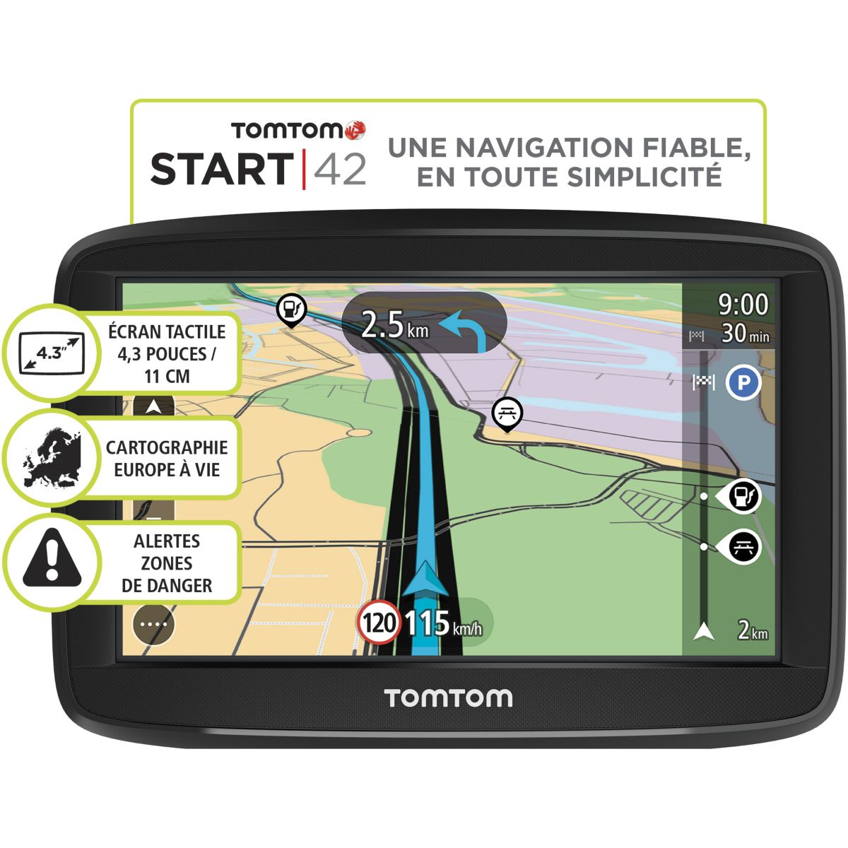 GPS TOMTOM Start 42 Europe 45 pays