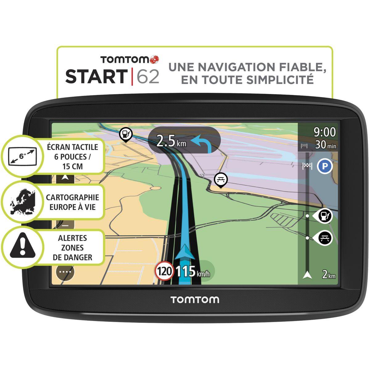 GPS TOMTOM Start 62 Europe 48 pays