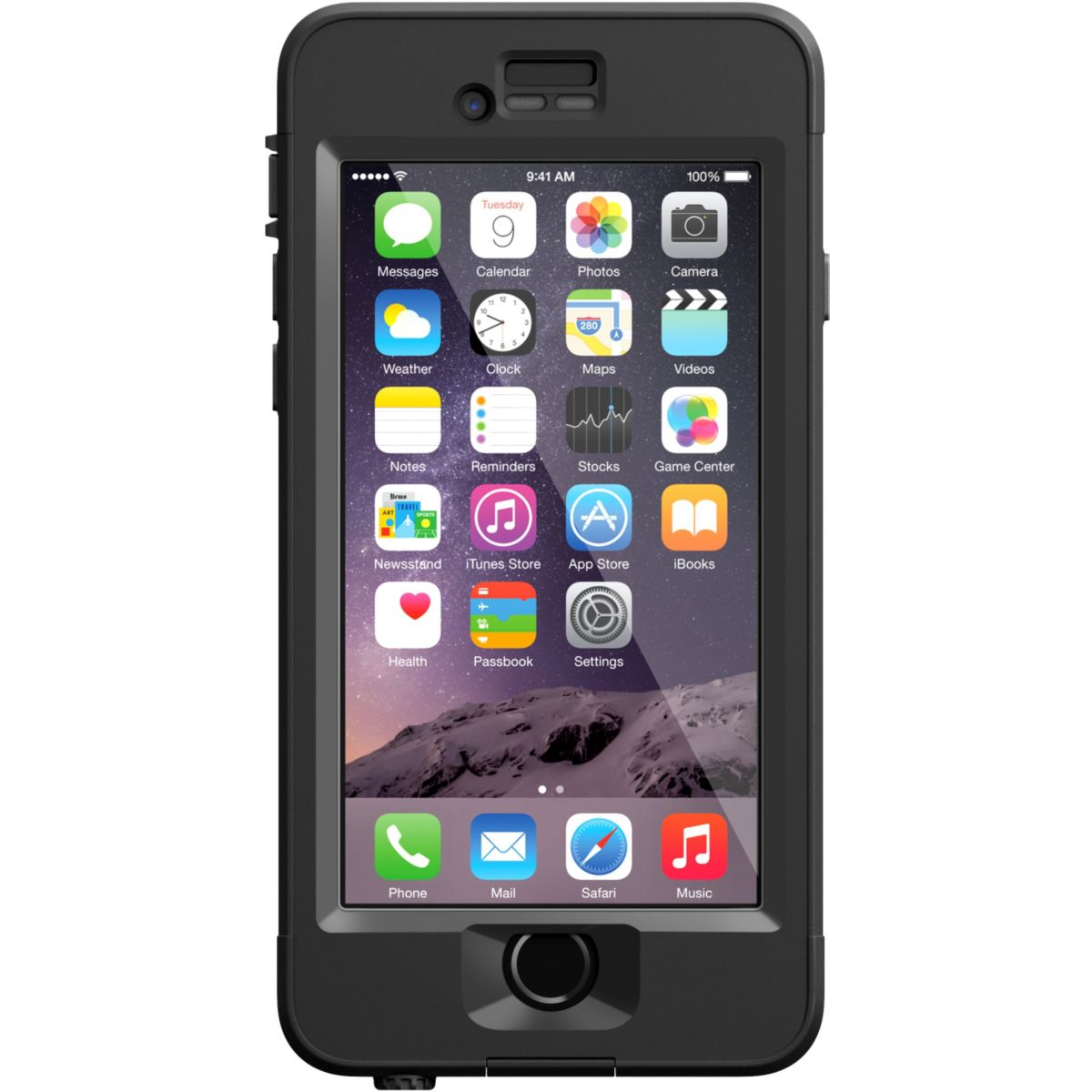 Coque LIFEPROOF NUUD iPhone 6 noir V2
