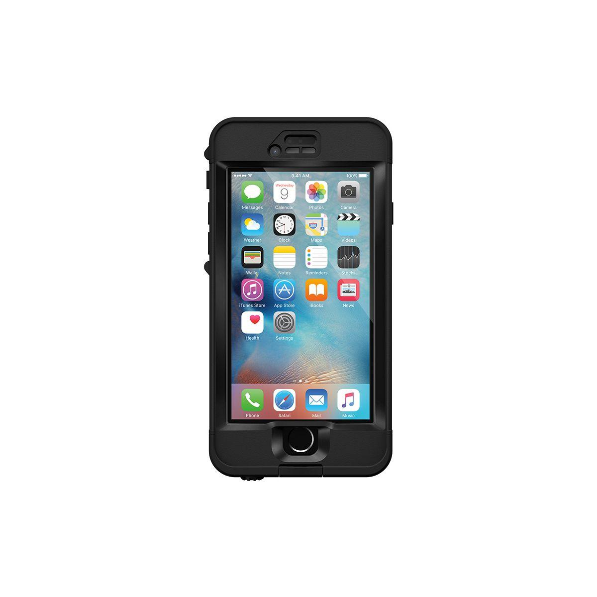 Coque LIFEPROOF NUUD iPhone 6S noir