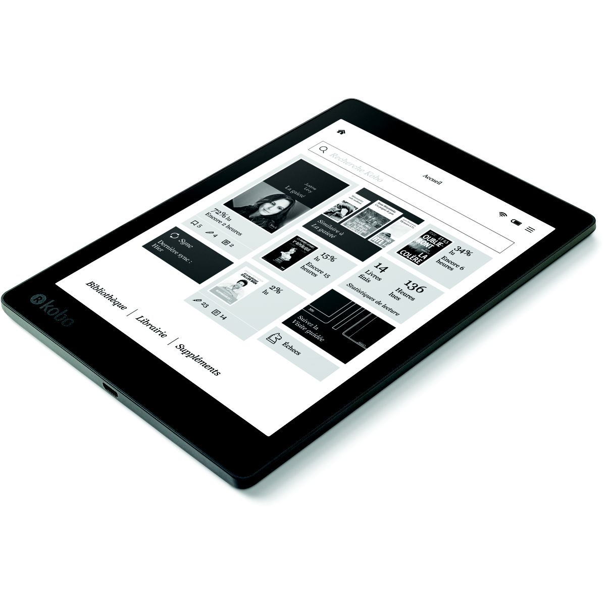 e-book KOBO AURA ONE (photo)