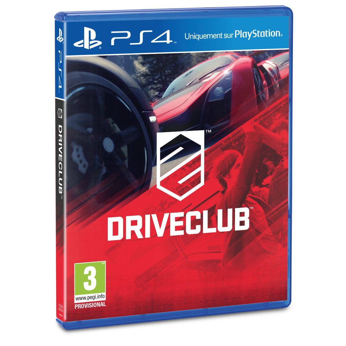 Jeu PS4 SONY DriveClub