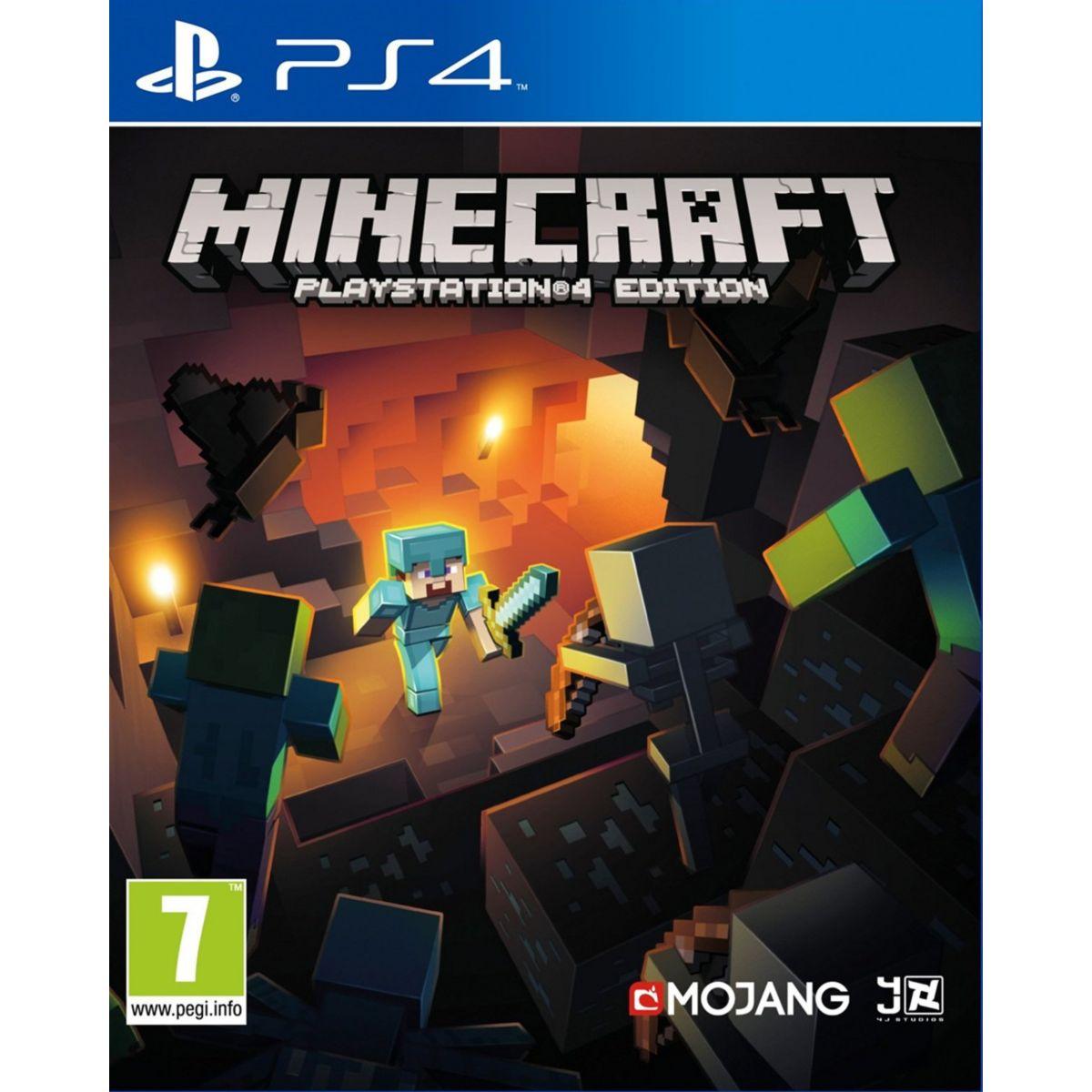 Jeu PS4 SONY Minecraft
