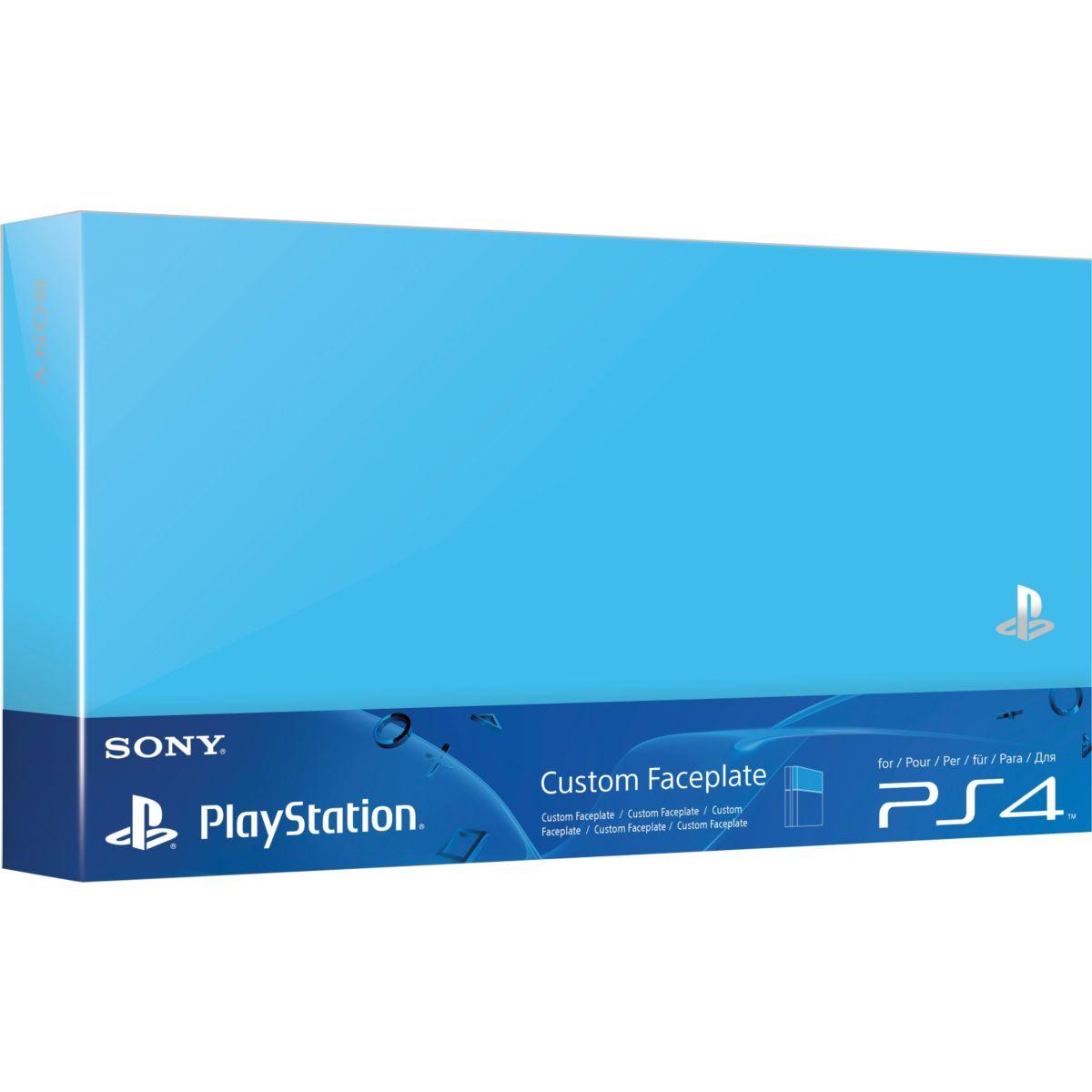 Custom Faceplate SONY Aqua Bleu