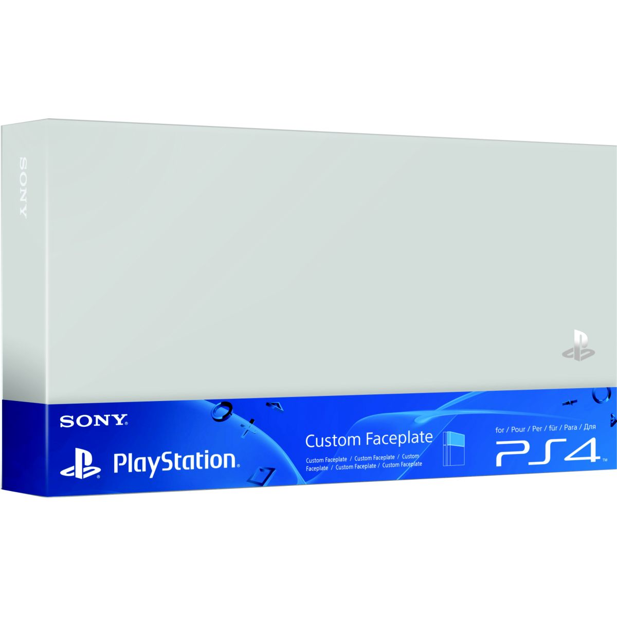 ACC. SONY Custom Faceplate Silver
