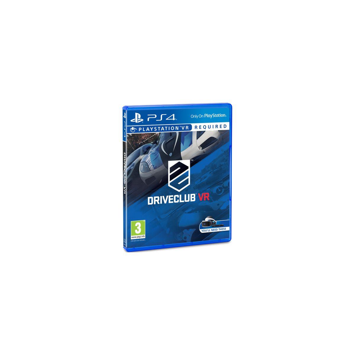 Jeu PS4 SONY Drive Club (VR)