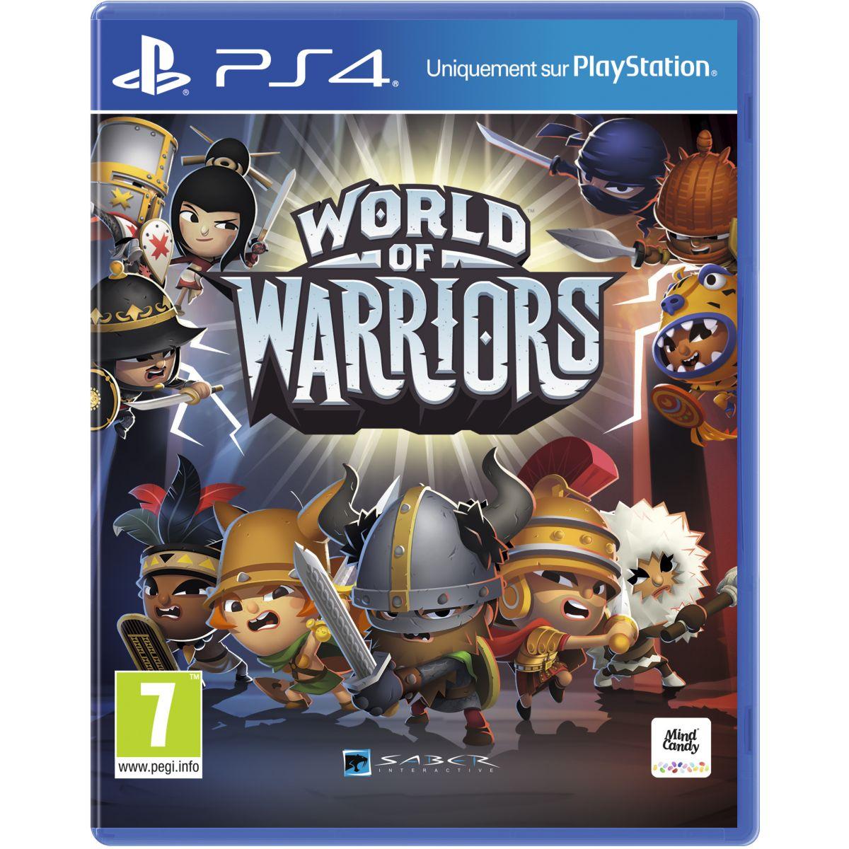 Jeu PS4 SONY World of Warriors