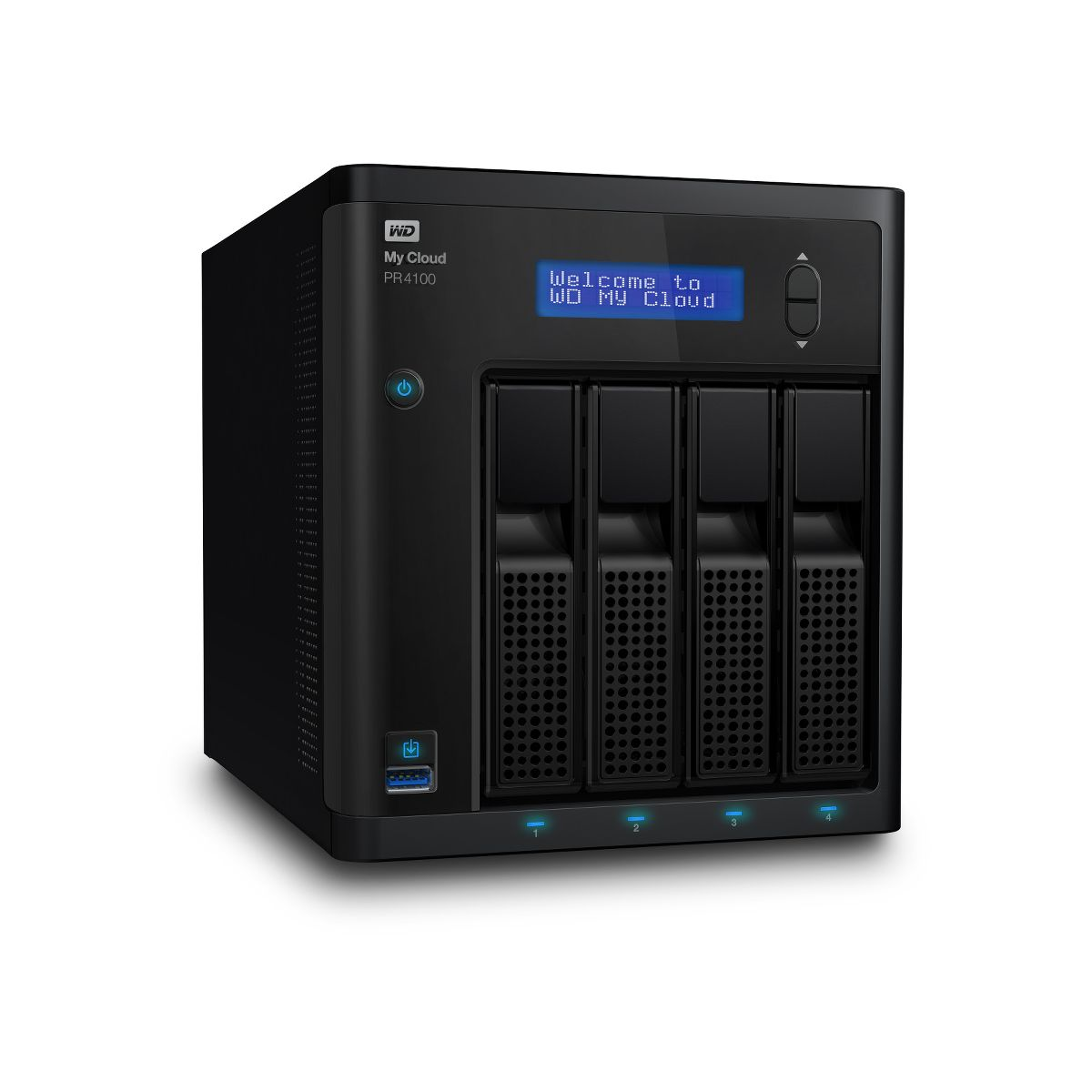 Serveur NAS WD 2 baies NAS My Cloud PR4100 0To