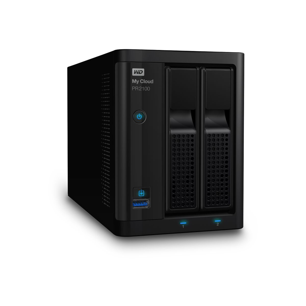 Serveur NAS WD 2 baies NAS My Cloud PR2100 4To