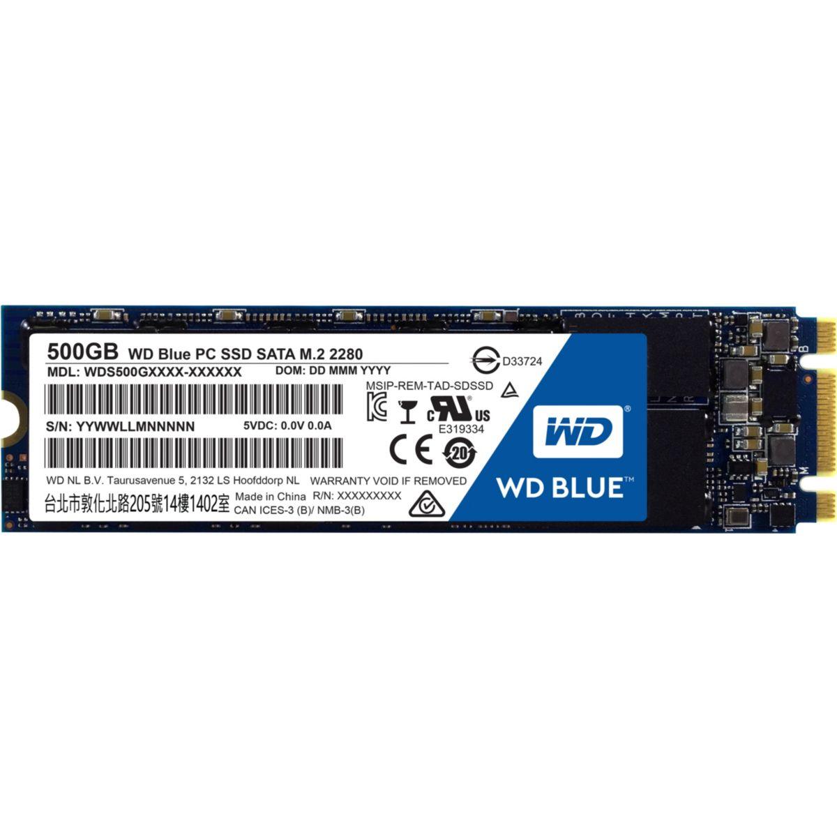 Disque WESTERN DIGITAL SSD 500Go