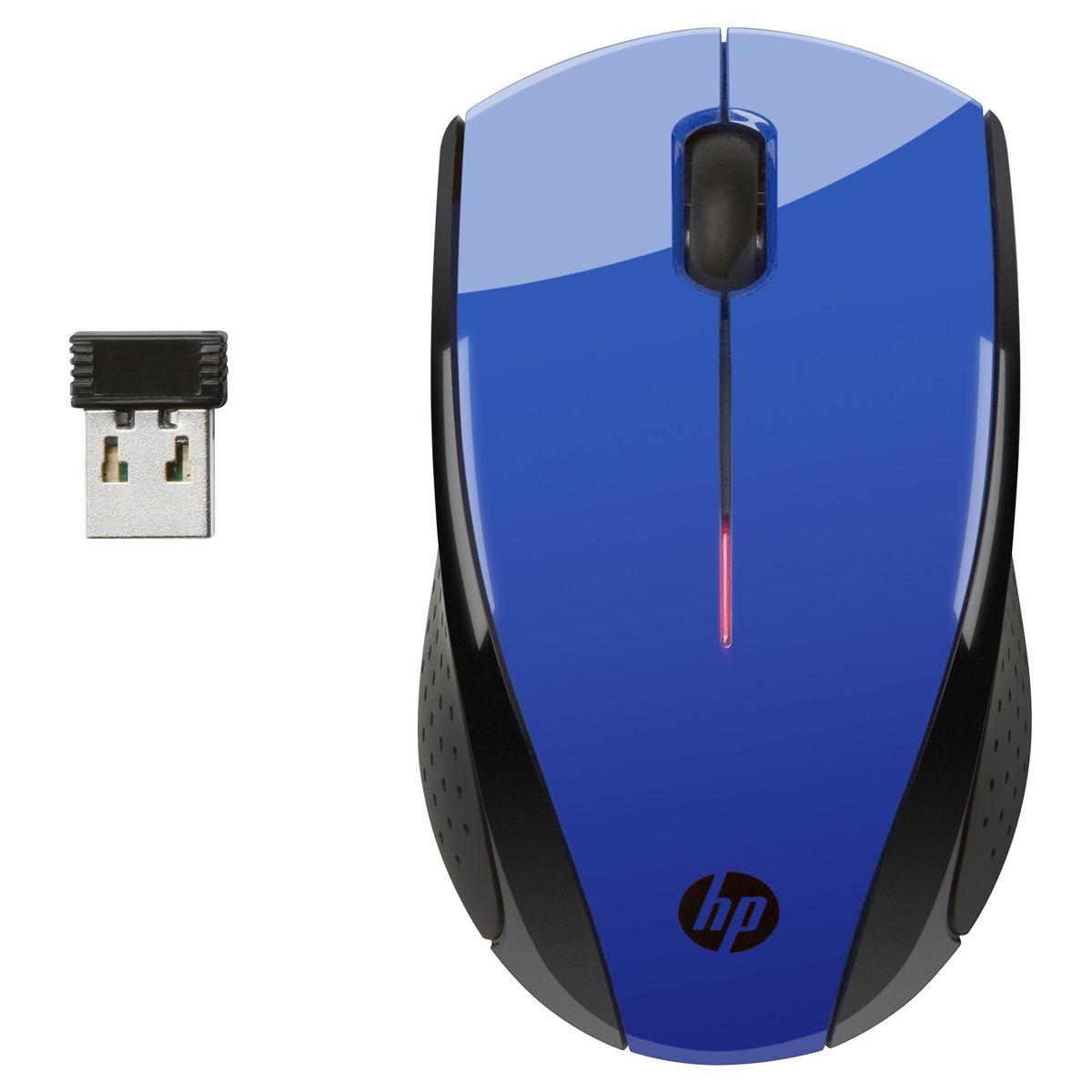 Souris sans fil HP X3000 Bleue