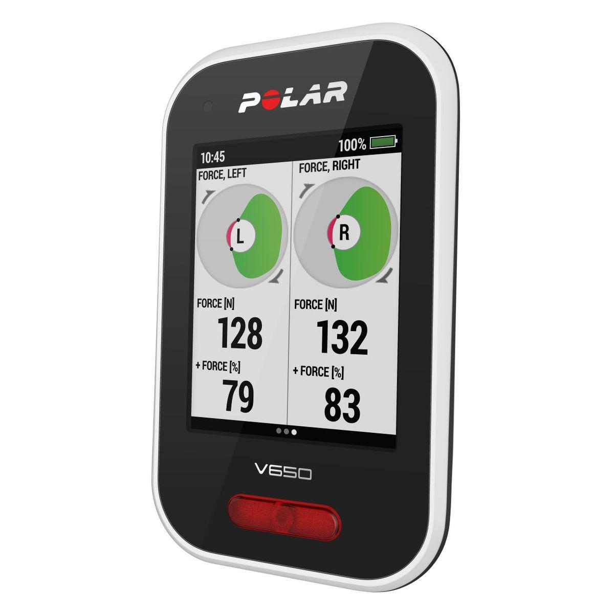 GPS vélo POLAR V650 Compteur GPS