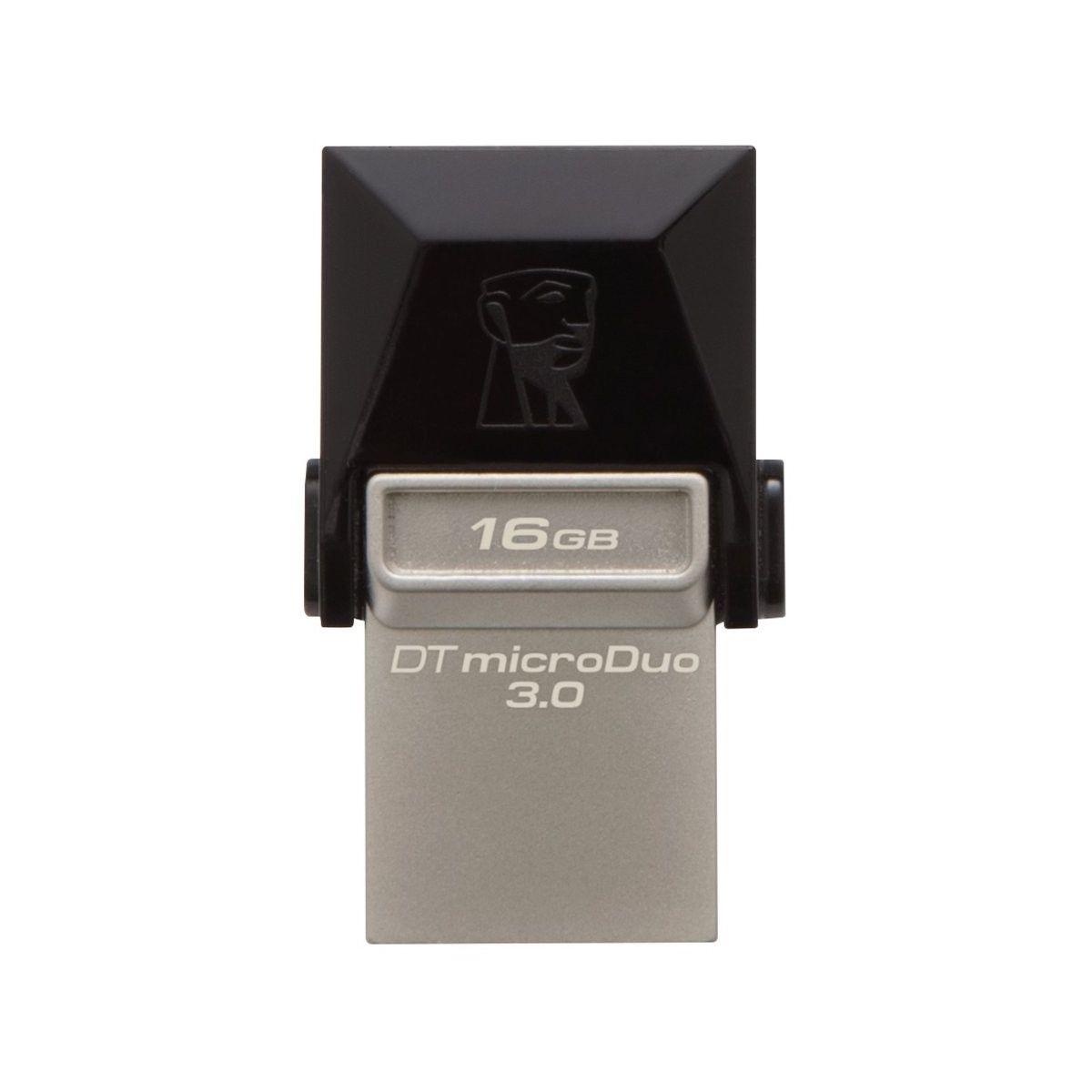 Clé OTG pour micro USB KINGSTON 16 Go OTG DataTravelerMicroDu...