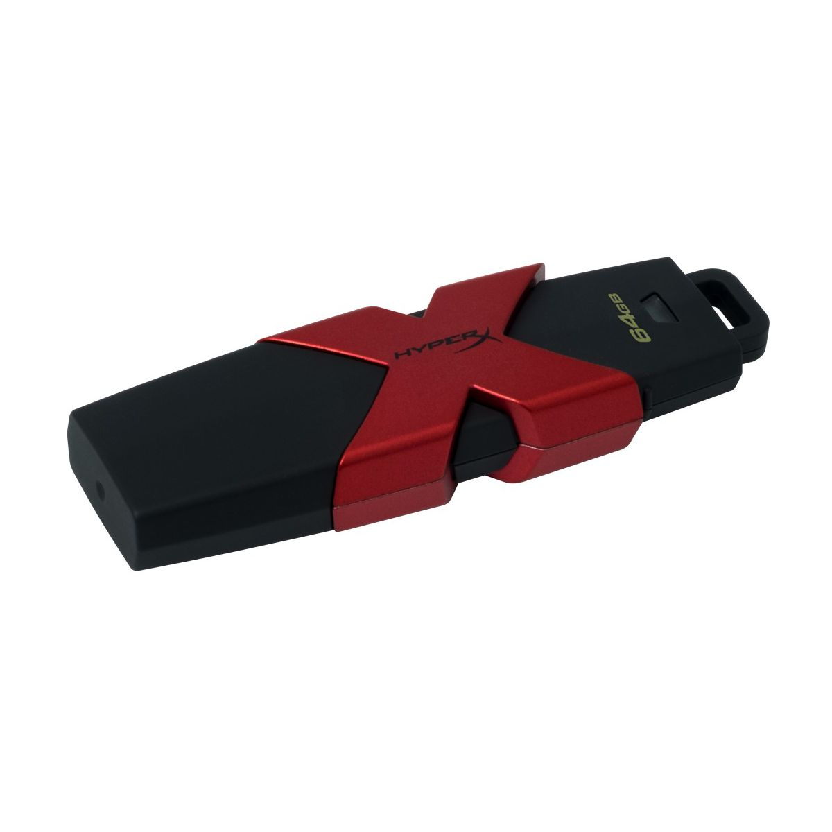 Clé USB KINGSTON 64Go HYPER X Savage USB 3.1 Gen 1 (photo)