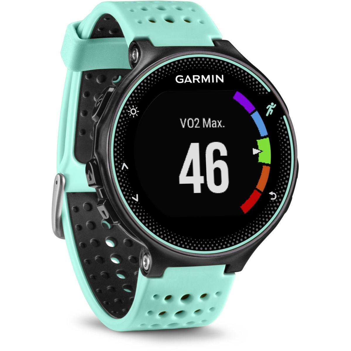 Montre sport GPS GARMIN Forerunner 235 HR Noir/Vert