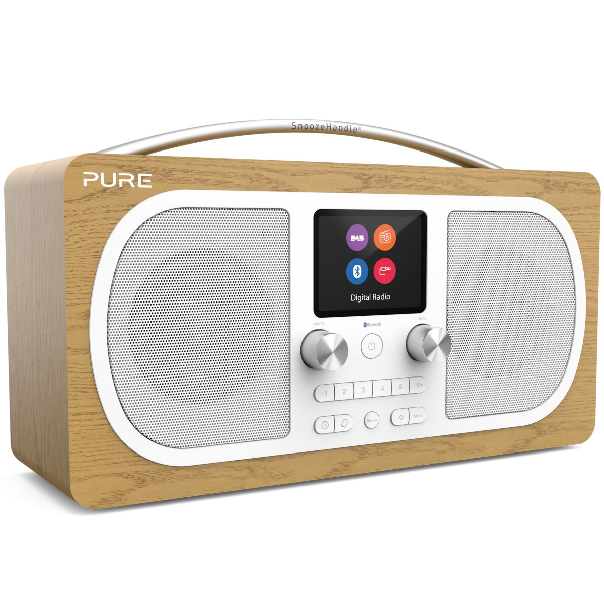Radio numérique PURE Evoke H6 Oak