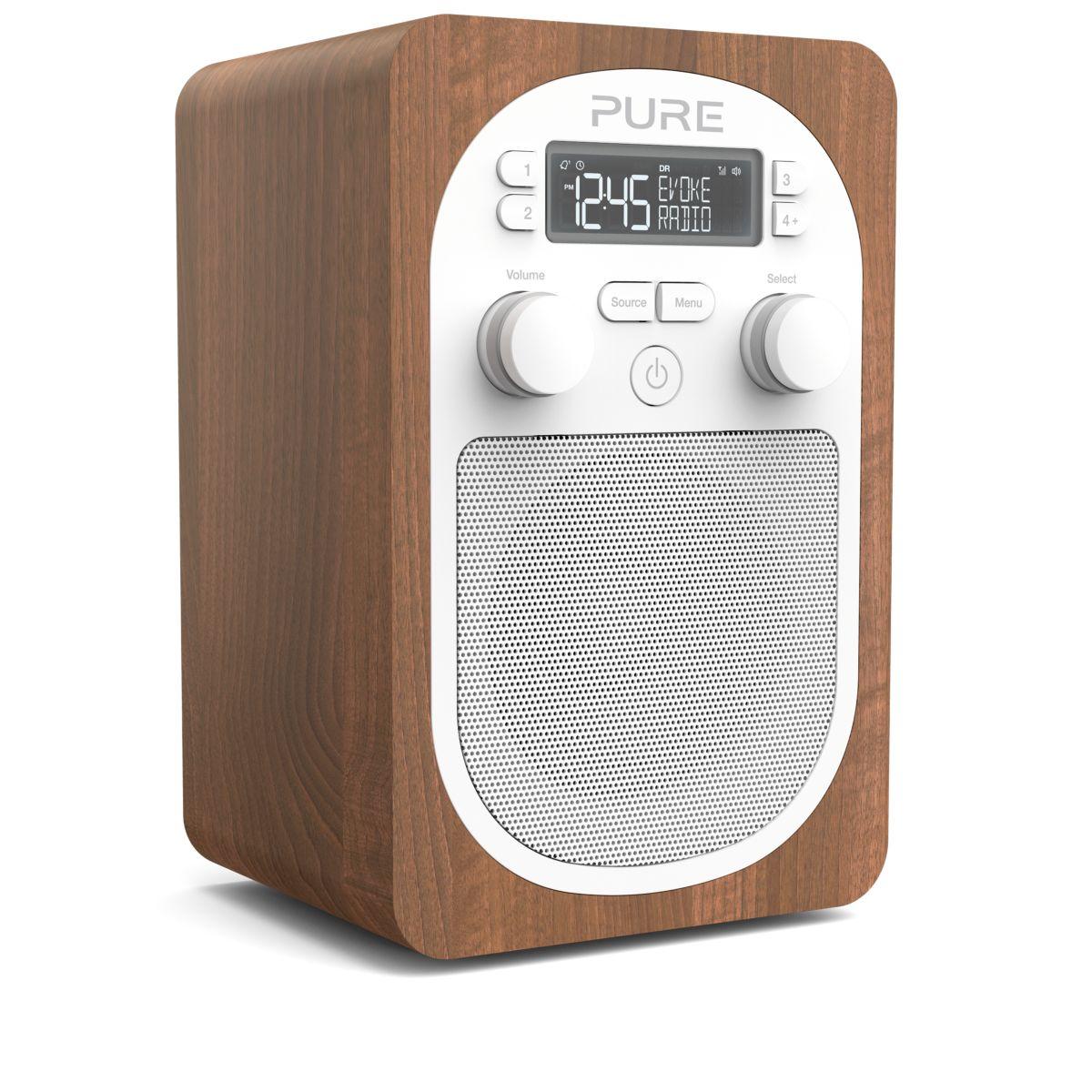 Radio numérique PURE Evoke H2 Walnut