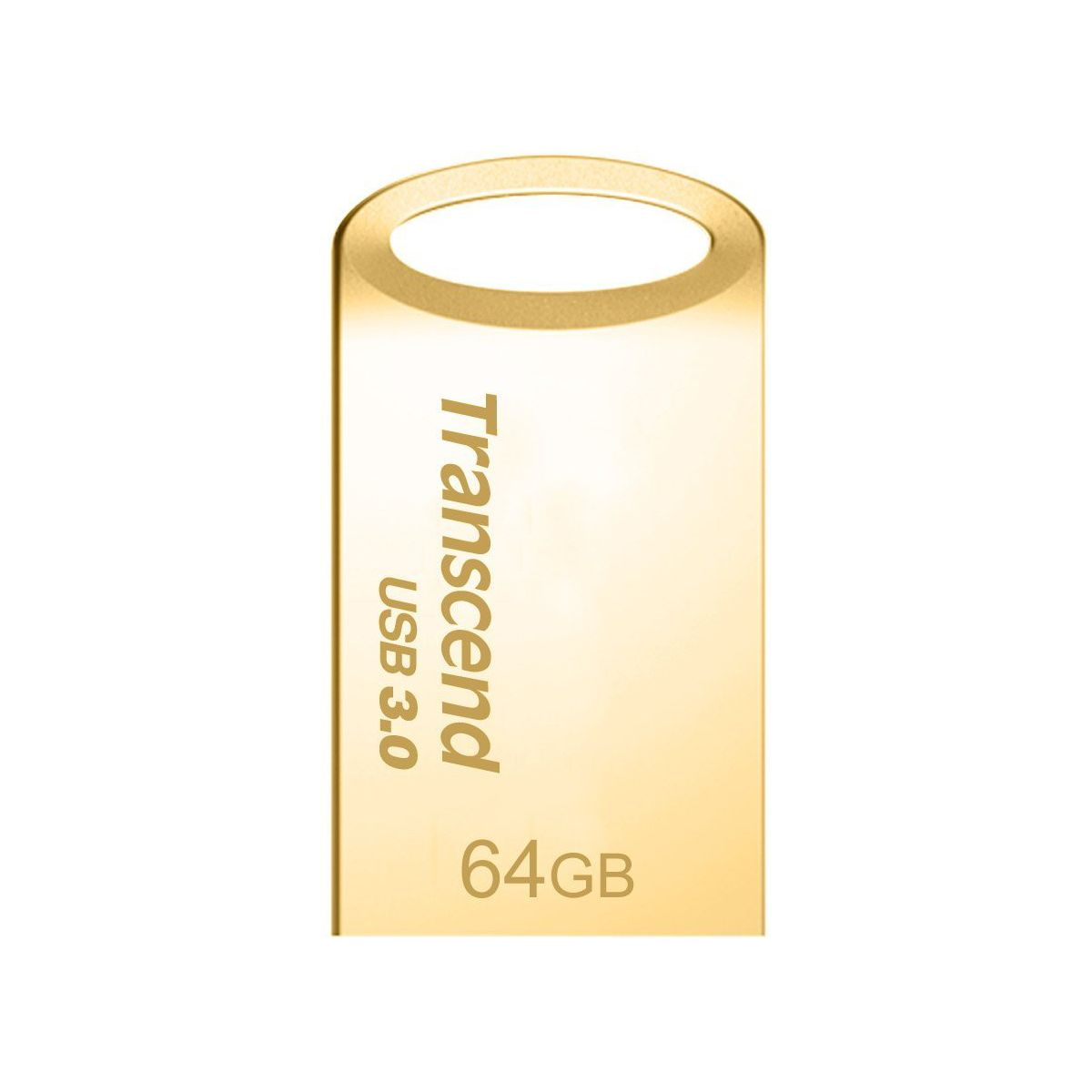Clé USB TRANSCEND 64Go JetFlash 710, Gold Plating USB 3.0