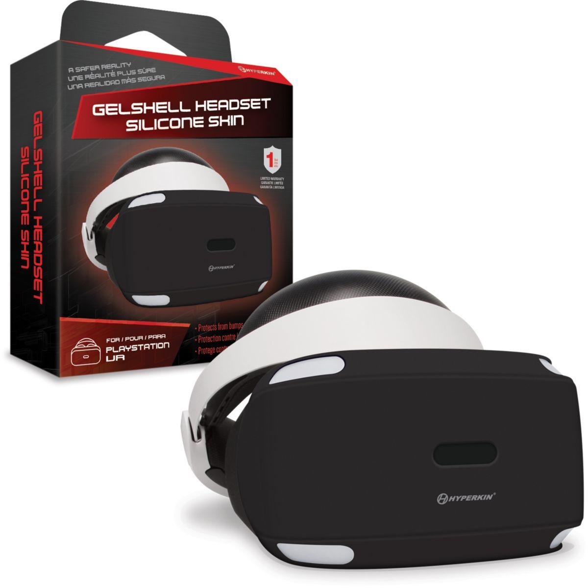 Protection casque HYPERKIN Housse Silicone Noire Pour PSVR