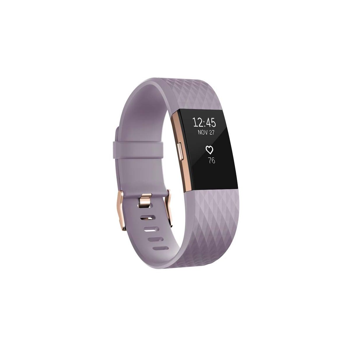 Bracelet connecté FITBIT Charge 2 Lavender Gold S