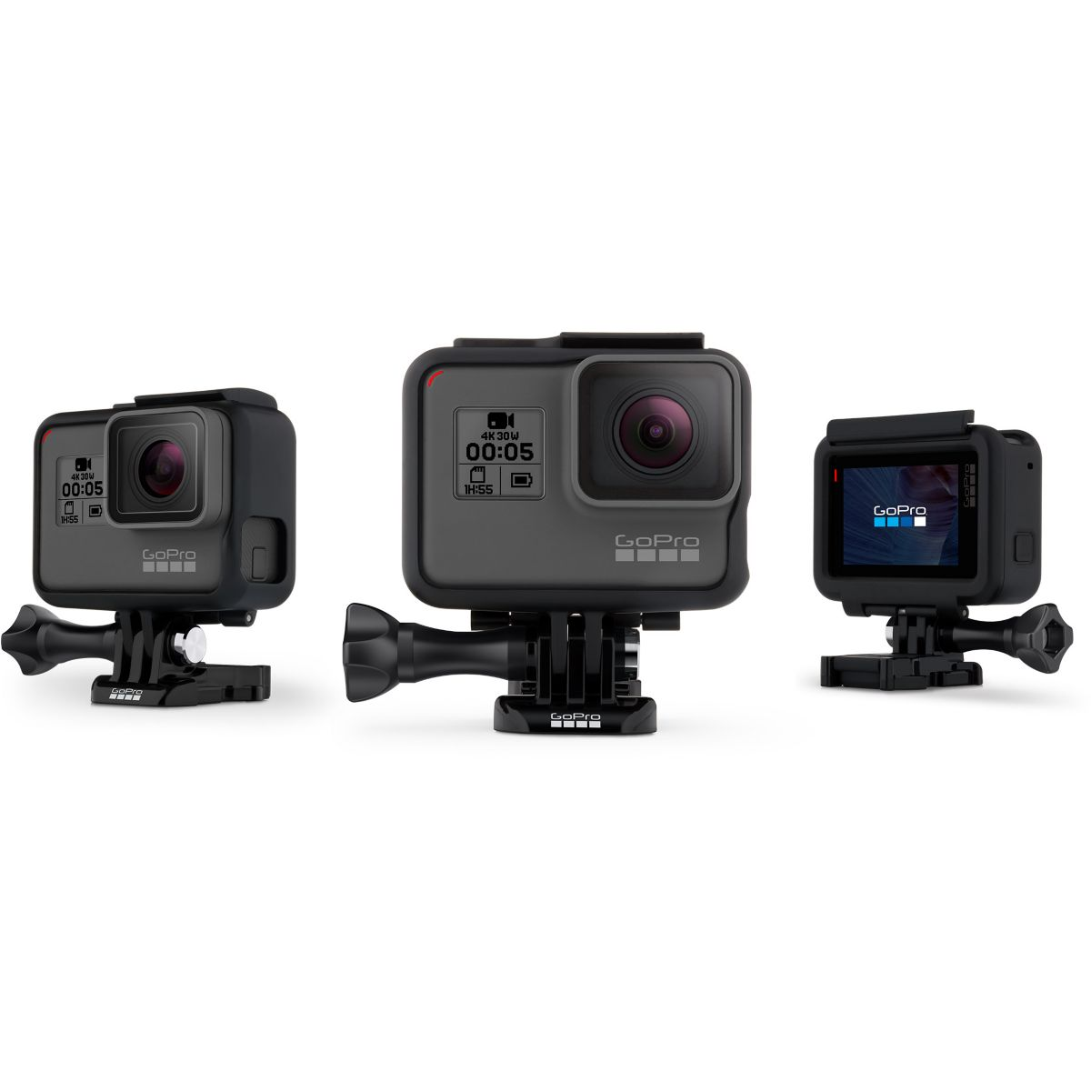 Fixation GOPRO The Frame pour Hero5 Hero6 Black