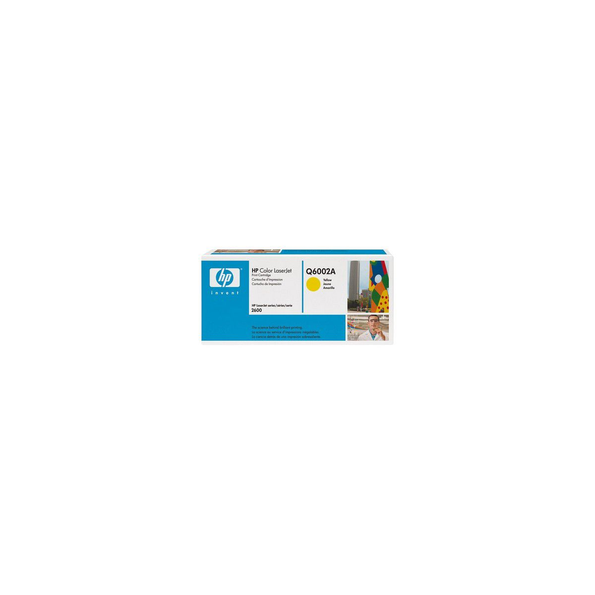 Cartouche Toner HP Q6002A Jaune