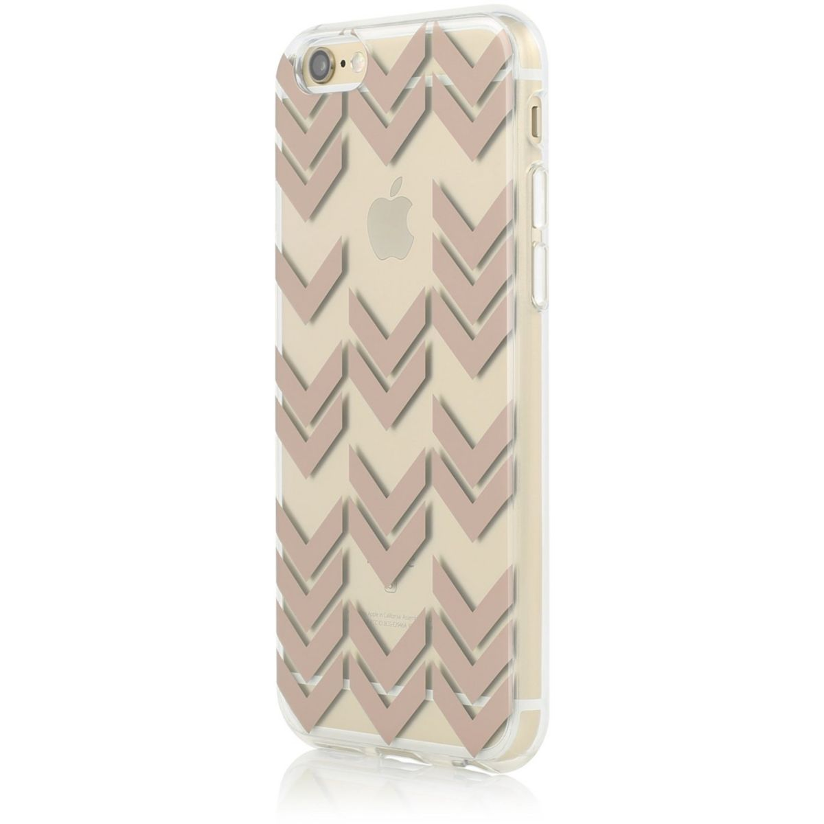 Coque INCIPIO iPhone 6/6S chevron rose gold