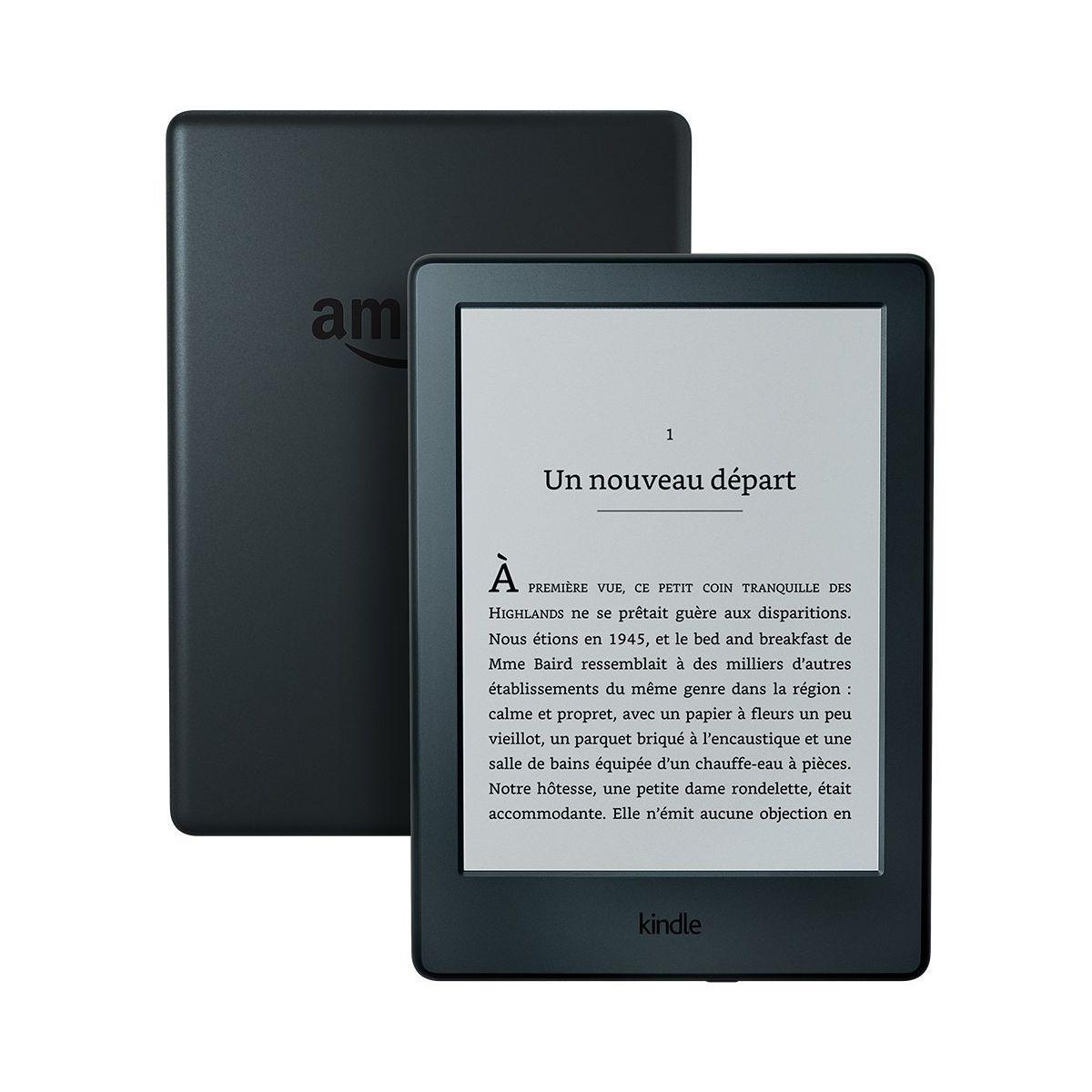 Liseuse eBook AMAZON Kindle 6' - Noir (photo)