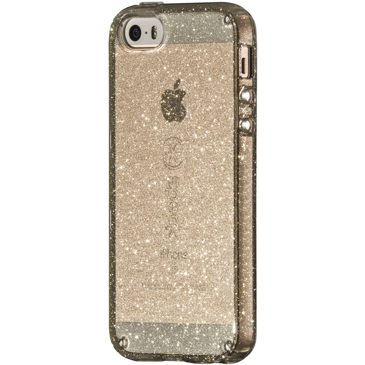 Coque SPECK iPhone 5/5S/SE Candy Shell Gold Glitter
