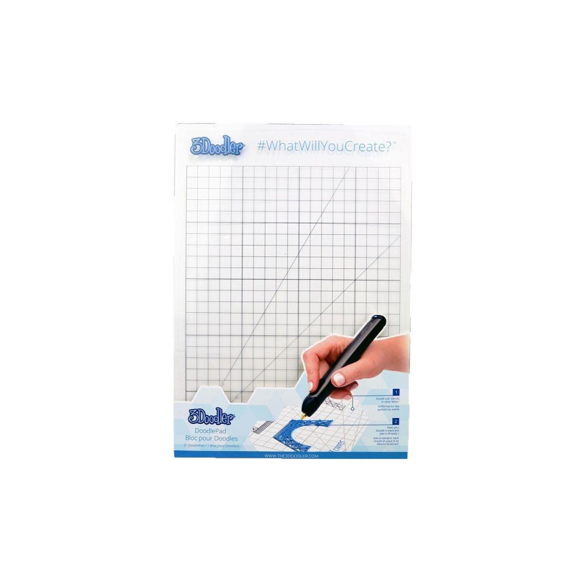 Accessoire stylo 3D 3DOODLER Doodle Pad Create