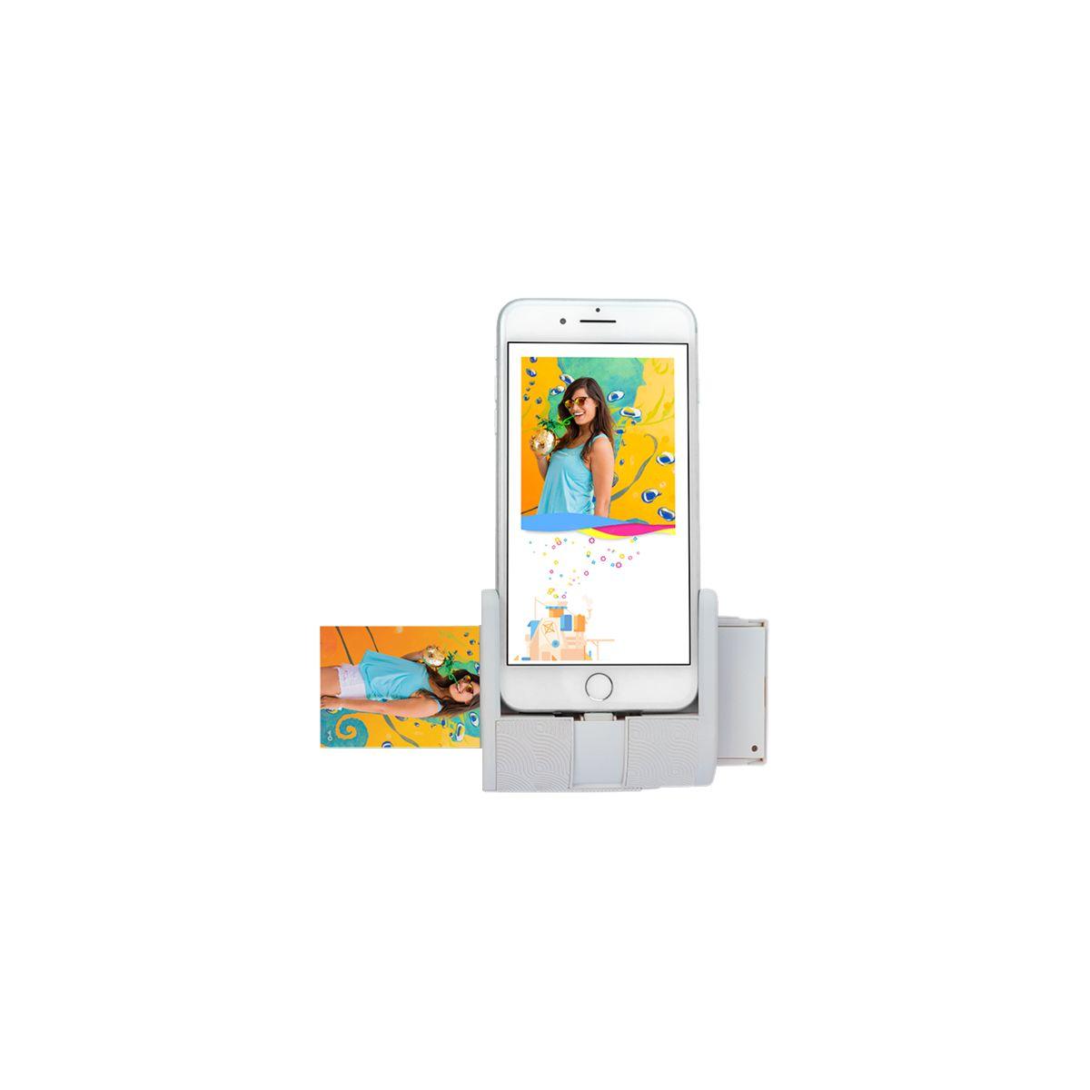Impr. PRYNT Pocket iPhone Gris (photo)