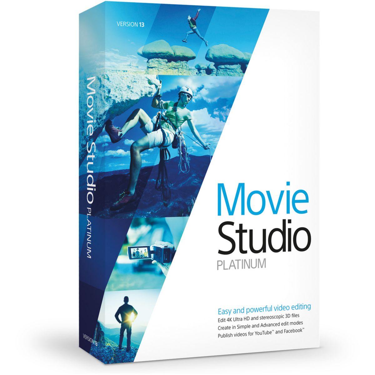 Logiciel PC VEGAS Movie Studio 13 Platinum